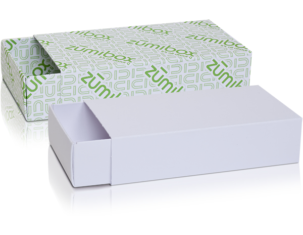 DIY Customizable Matte White Match Box Favor Box