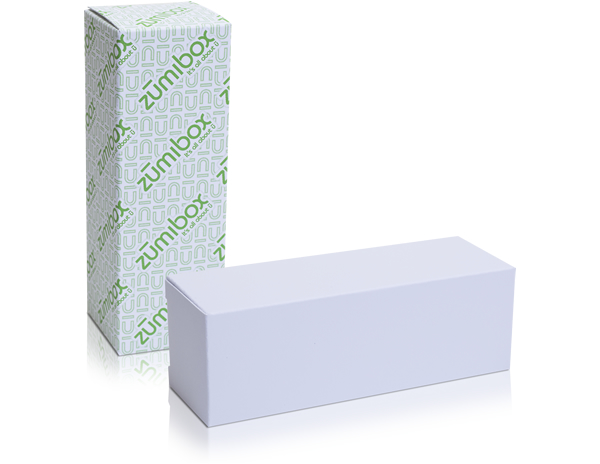 DIY Customizable Matte White Golf Ball Sleeve Favor Box