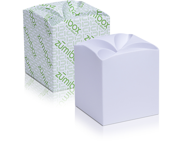 DIY Customizable Matte White Clover Top Box Favor Box