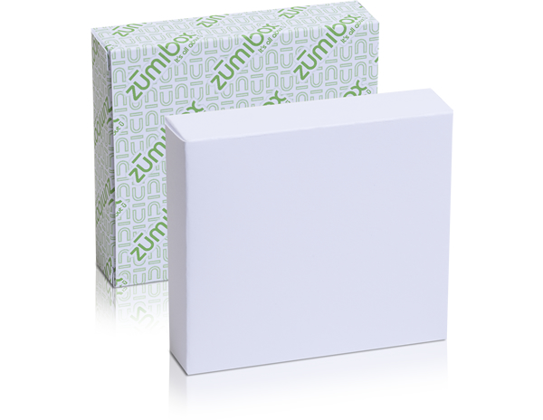 DIY Customizable Matte White Tuck End Box Favor Box