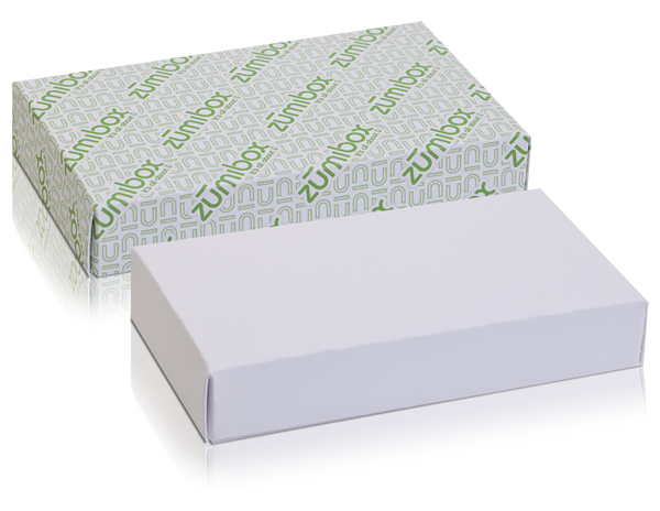 DIY Customizable Matte White Jewelry Box Favor Box
